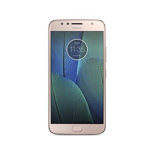 """Motorola Moto G5S Plus - Smartphone Libre De 5.2"""""""" Full HD, 3.000 Mah De Batería, Cámara De 13 MP, 3 GB De Ram + 32 GB De Almacenamiento, Procesador Snapdragon De 2.0 GHz, Color Dorado"""