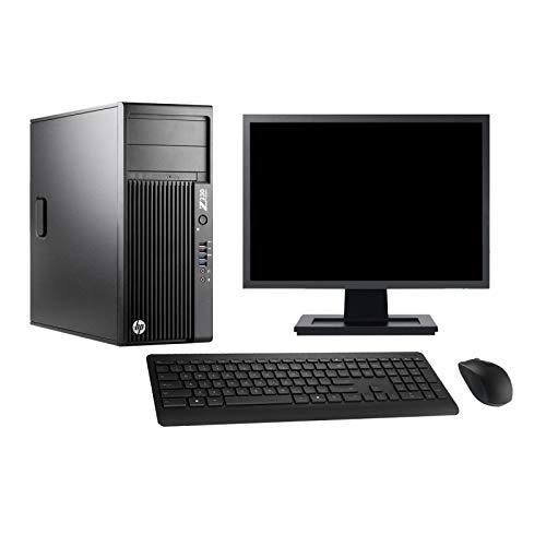 "HP PC Z230 Schermo 27"" Gaming GTX 1050Ti i7-4790 RAM 32GB 240GB SSD + 2TB HDD W10 (rigenerato)"