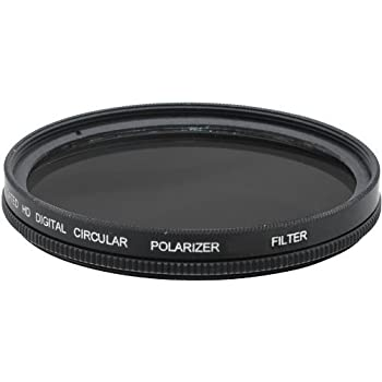 C-PL For Canon EF-S 24mm f//2.8 STM Circular Polarizer Multicoated 52mm Multithreaded Glass Filter