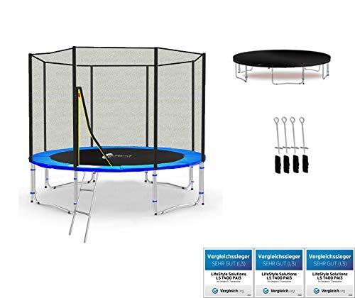LS-T305-PA10 (B) LifeStyle ProAktiv Trampolino da giardino 305cm - incl. Rete di sicurezza 130g/m² - New