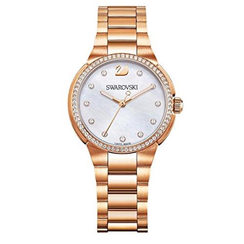 Swarovski Reloj analogico para Mujer de Cuarzo con Correa en Acero Inoxidable 5221176