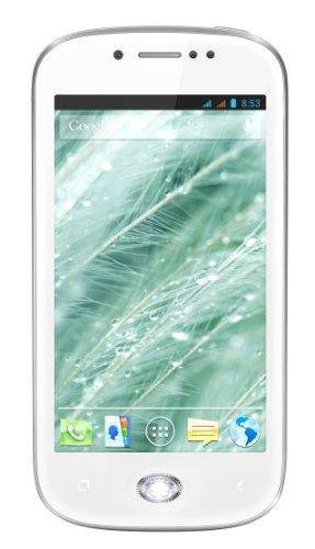 Wiko Sublim Smartphone made with Swarowski Zirconia (10,2 cm (4 Zoll) IPS, 1GHz, Dual-Core, 512MB RAM, 4GB Speicher, 5 MP Kamera, Dual-SIM) weiß