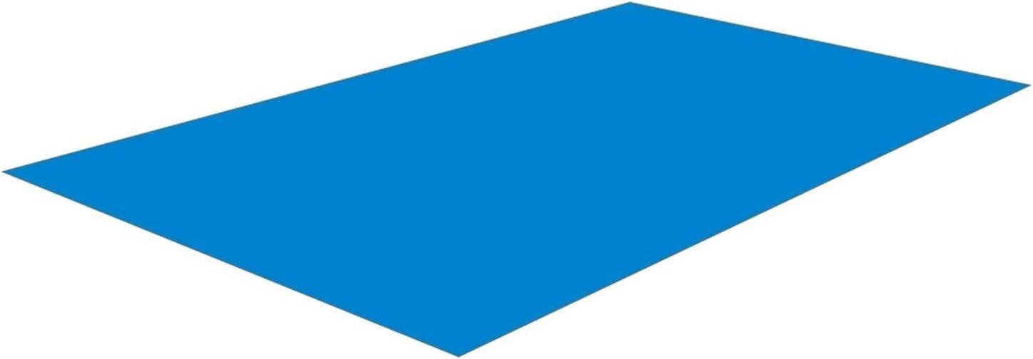 Rubeyul Lona de suelo para piscina, 250 x 340 cm, azul, protección para el suelo de la piscina, impermeable, antiUV, para piscinas, botes inflables, piscinas infantiles (rectangulares)