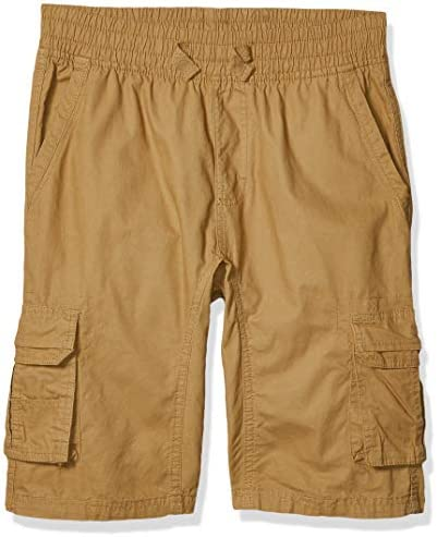 Southpole Kids Boys Big Belted Mini Canvas Cargo Shorts in Wheat 4 X Large product image
