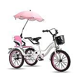 Triciclo para Adultos 16in Triciclo para Niños Niños De 3 A 12...