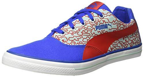PUMA Men Hip Hop NM IDP Puma White-Turkish Sea-Ribbon Red-Aquifer Sneakers-9UK (4060979674059)