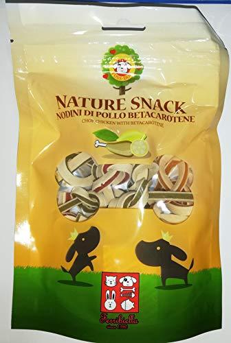 Ferribiella Nature Snack nodini di Pollo e betacarotene