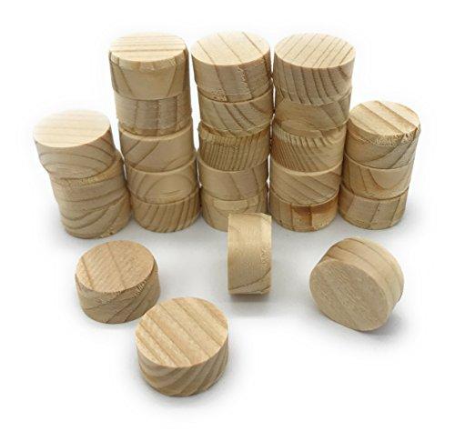 Querholzplättchen D=20mm 25-Stück/0,218€ Stück