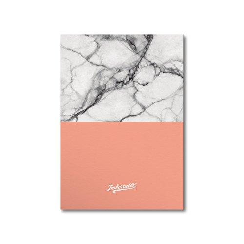 Imborrable Mármol Pintado - Cuaderno para zurdos, 14.8 x 21 cm, A5