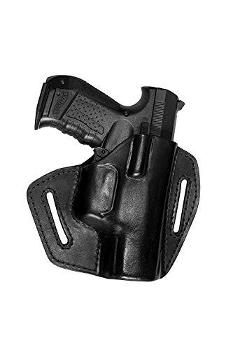 VlaMiTex UX Funda de Pistola para cinturon, de Piel, para Glock 17 19 20 21 22 23 25 31 32 37
