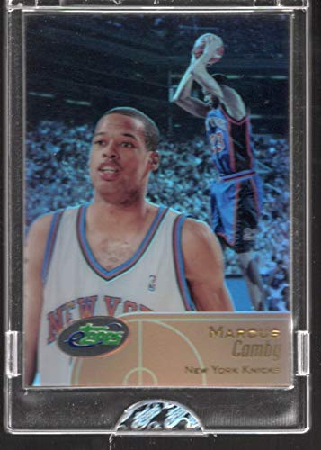 2001-02 etopps Topps Marcus Camby Limited Edition Trading card #27 New York Knicks