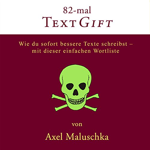 82-mal Textgift [German Edition] audiobook cover art