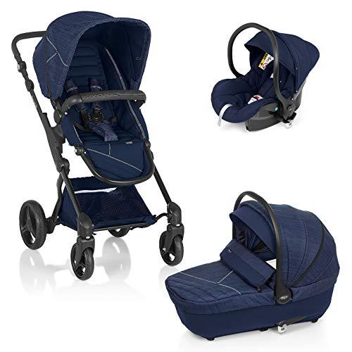 Brevi 775-653 Presto City Sistema Modulare con Navicella Omologata, Blue Jeans, Collezione 2020