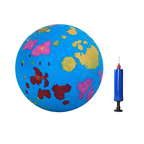 Pipicat - Pelotas arcoíris para niños, para juegos de deportes, pequeña, para actividades de juego al aire libre, material PVG, 15 cm