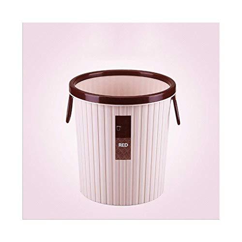 Papeleras de basura, plástico grande de plástico, basuramente en forma de polvo de cubo de polvo de 4,2 / 5.2 galones, resistente a los golpes, contenedores de desechos disponibles (Tamaño: 4.2 galone