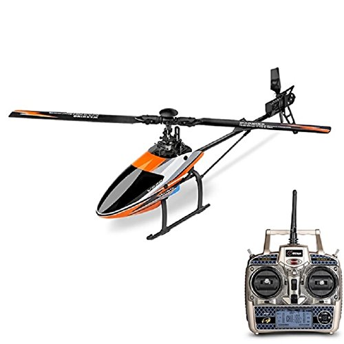 WLTOYS V950 2.4G 6CH 3D6G Elicottero Radiocomandato System Brushless Flybarless RC Helicopter