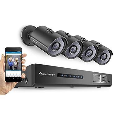 Amcrest Ultra HD 4MP Video Security System (AMNV40M8-4B-B)