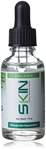 Skinapeel Collagen Serum 30ml 1 FL. oz- Clinical Skincare London- Made in UK- Use with Micro Needle Derma Roller and Stamp