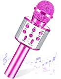 SEPHIX Musical Toys for 5 6 7 8 9 10 Years Old Girls Birthday Gifts, Portable Bluetooth Karaoke Microphone for Kids Teen Girl Christmas Birthday Gifts for 4-5-9 Year Old Girls Toys Age 6-7-8-10,Purple