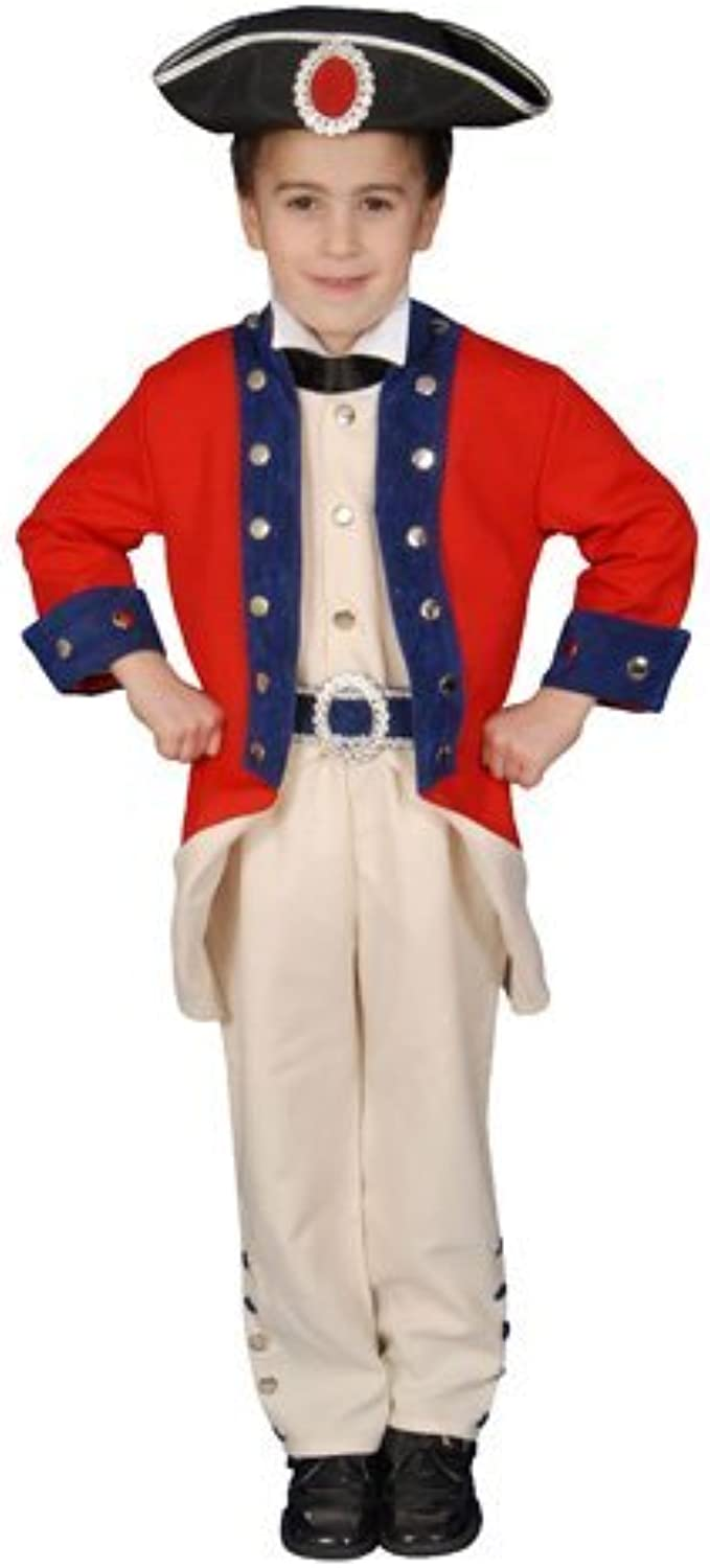 Deluxe Historical Colonial Soldier Costume Set - Large 12-14 by Dress Up America