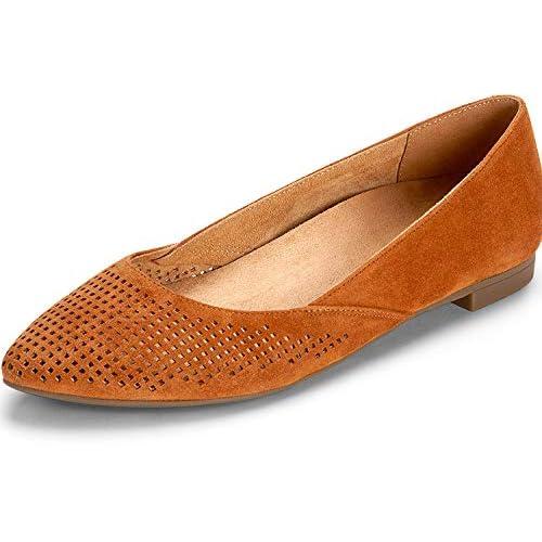 d73b83215f68 Brown Pointed Toe Flats  Amazon.com