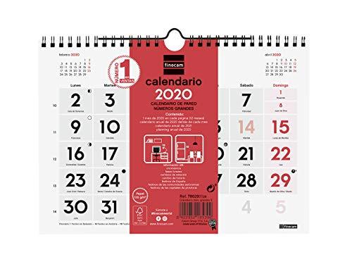 Calendarios Grandes Faldilla Marca Finocam