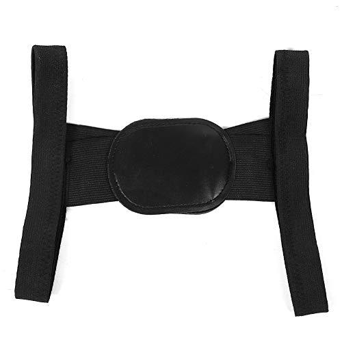 Soporte unisex para la espalda y la columna vertebral, corrector de postura, portátil, práctico para niños(black, S)