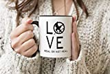 Hunger Games Symbol Love Black Handle Mug Coffee Tea Mug 312ml Cup