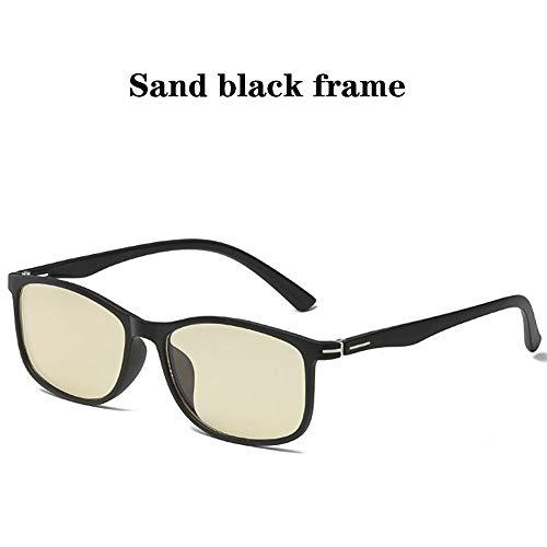 WWDKF Blauw licht blokkerende bril Unisex retro bril van TR90 full-frame voor PS4 gaming computer, effectief tegen UV400, die absorberen high-energy blauw licht om vermoeidheid van de ogen te voorkomen
