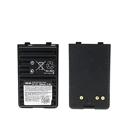 FNB-V83 FNB-V94 Batería Ni-MH para Yaesu FT-60R FT-250R FT-270 HX500S Vertex VX-110 VX-120 VX-150 VX-160 VX-420 VX-424 Reemplazo de batería de Radio bidireccional