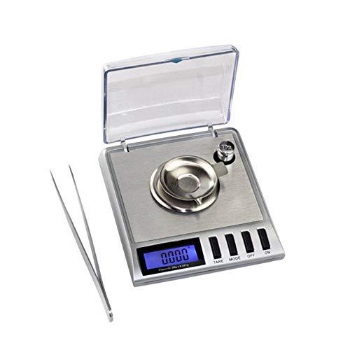 Báscula Digital de Alta precisión, 20 g x 0,001 g, 1 MG de Gramos, b