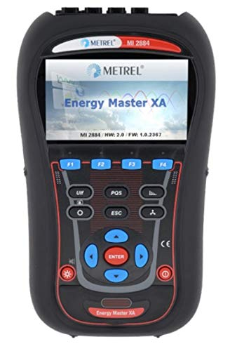 Metrel MI Ranking TOP14 2884 Energy Master XA 3 Phase PQA Quality Power Analyz Popular brand