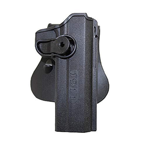 Vioaplem IMI Táctico Pistolera For Colt 1911 Pistola Airsoft Pistola del Cintura con La Bolsa Revista Militar Accesorios Caza