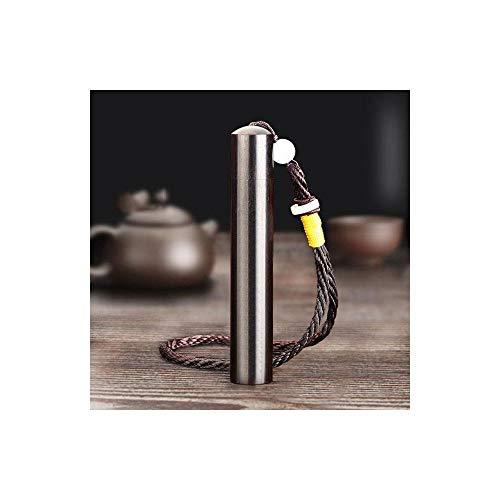 HAOAYOU Mechero Encendedor electrónico de Madera de sándalo Grabado Encendedor de Cigarrillos de soplado de Aire de Madera Vintage Encendedores de Carga USB 8