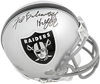 "Fred Biletnikoff Las Vegas Raiders Autographed Riddell Mini Helmet with""HOF 88"" Inscription - Fanatics Authentic Certified"
