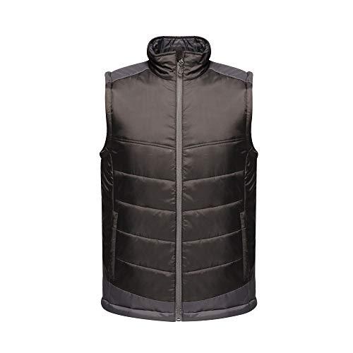 Regatta Professionelle Herren Weste mit kontrastierendem Wasser M Black/Seal Grey