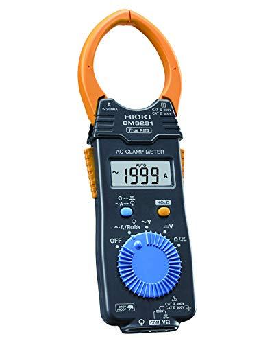 HIOKI(日置電機)ACクランプメータCM3291AC2000A大口径対応RMS