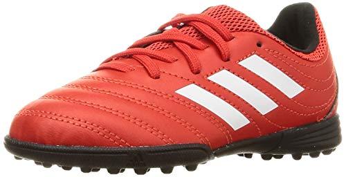 adidas Unisex-Child EF1922_33 Turf Football Trainers, Active Network FTWR White Black Core, EU