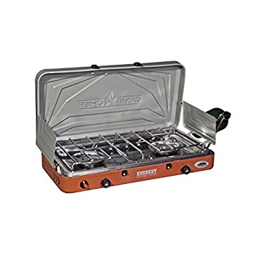 Camp Chef MS2HP Mountain Camping Series Outdoor Cooking 2 Burner High Pressure Camp Stove