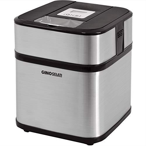 Syntrox Germany Edelstahl Eismaschine, Frozen Yogurt Maschine, Milchshake Maschine und Flaschenkühler Gino Gelati GG-12W