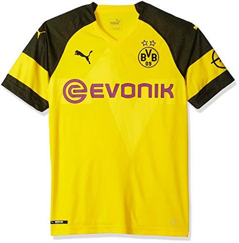 PUMA Mens Borussia Dortmund Licensed Replica Jersey 2018-2019, Medium, Home