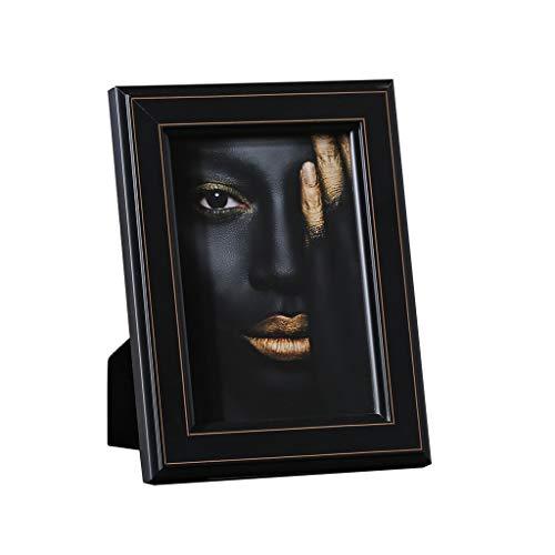 Conemmo lichte fotolijst gedekte tafel eenvoudige massief hout zeven inch Scandinavische lippendruk American model kamerdecoratie framedecoratie