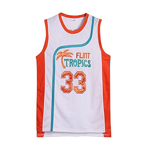 JHGF Camiseta de Baloncesto para Hombre Michael 23 Chaleco de Entrenamiento Juvenil Ropa Deportiva Transpirable Ropa clásica(Versión de la película,L)