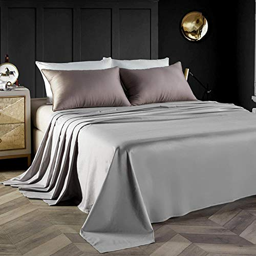 Lavish Home 100-Percent 300 Thread Count Egyptian Cotton Sheet Set White 66-001-Q-W Queen