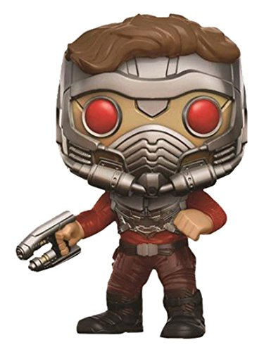 Funko- Pop Guardians of The Galaxy 2 Vinyl Figure 209 Star-Lord in Mask, 9 cm, 93270