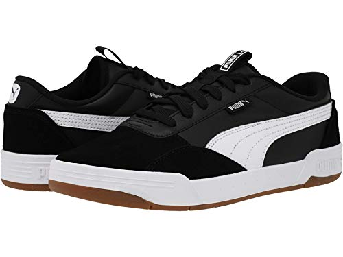 PUMA C-Skate Mix Puma Black/Puma White/Puma White 11 D (M)
