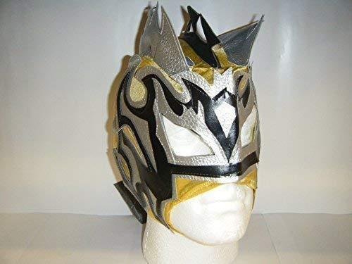 Lucha Drachen Kalisto Reißverschluss auf Wrestling Maske für Kinder