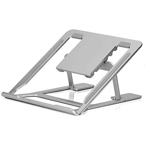 Raxinbang folding table Foldable Lift Bracket Aluminum Ergonomics Design 6 File Adjustment Portable Laptop Stand For 11 Inch -17 Inch Universal Laptop Cooling Rack, Folding Laptop Desk For Working,Gam