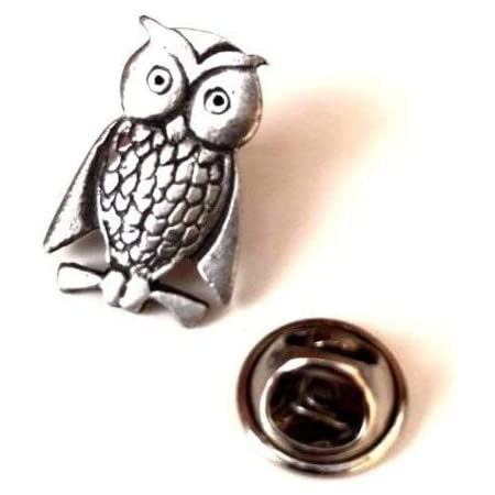 Plague Doctor Handcrafted From English Pewter Lapel Pin Badge ^