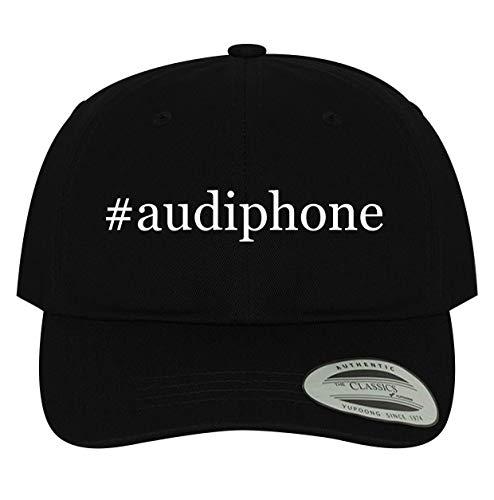 BH Cool Designs #Audiphone - Men's Soft & Comfortable Dad Baseball Hat Cap, Black, One Size